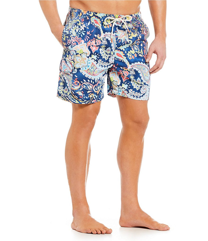Tommy Bahama Naples Paisley Promenade Swim Trunks
