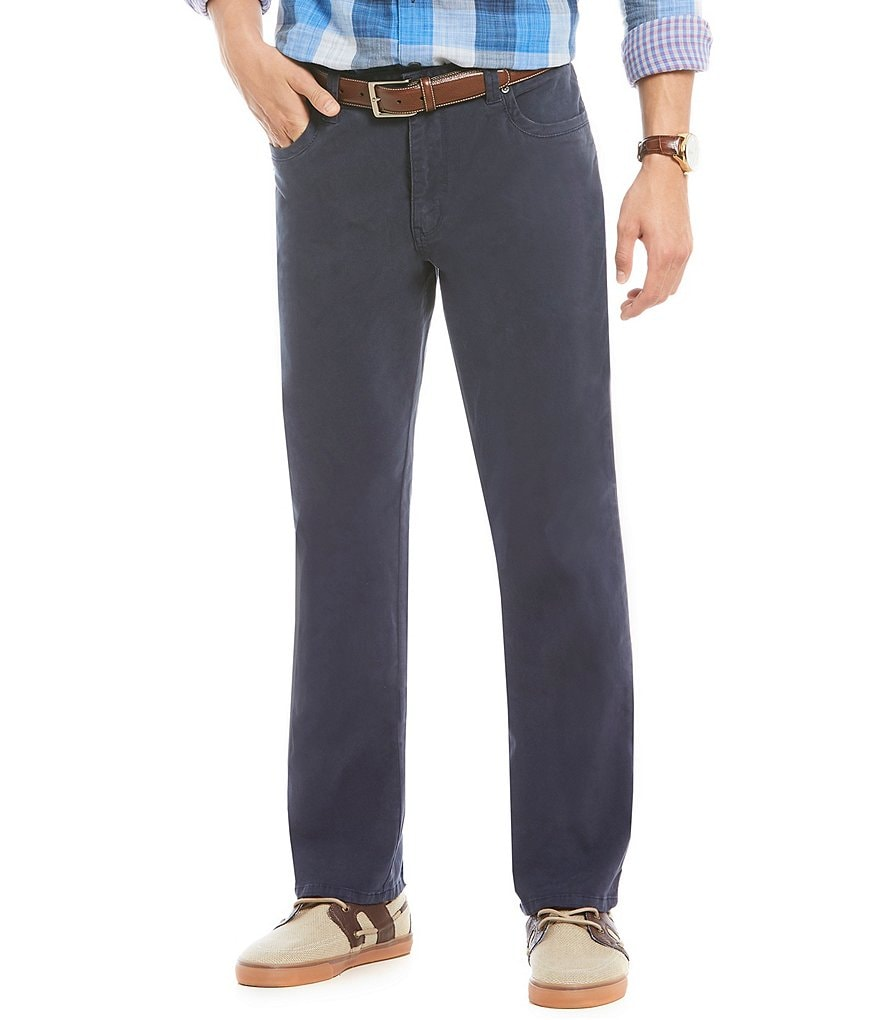 Tommy Bahama Santiago Twill 5-Pocket Flat Front Pants