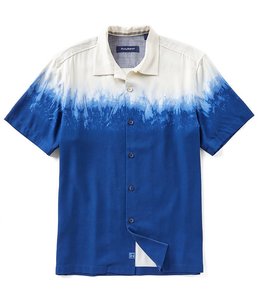 Tommy Bahama Shibori Shadow Short-Sleeve Shirt