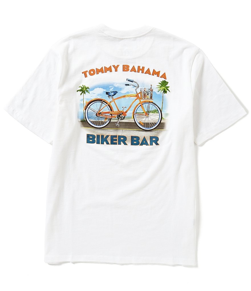 Tommy Bahama Short-Sleeve Biker Bar Graphic Tee