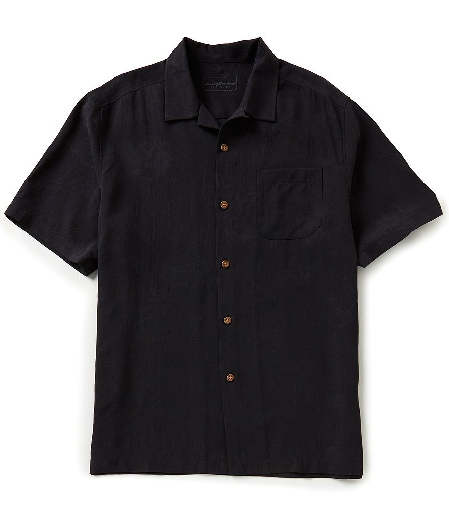 Tommy Bahama Short-Sleeve To Zin Or Not To Zin Woven Shirt