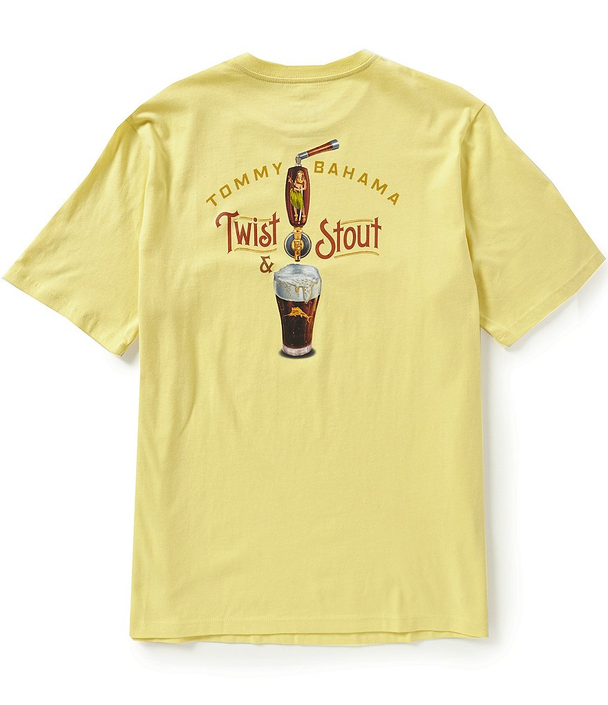 Tommy Bahama Short-Sleeve Twist And Stout Graphic Tee