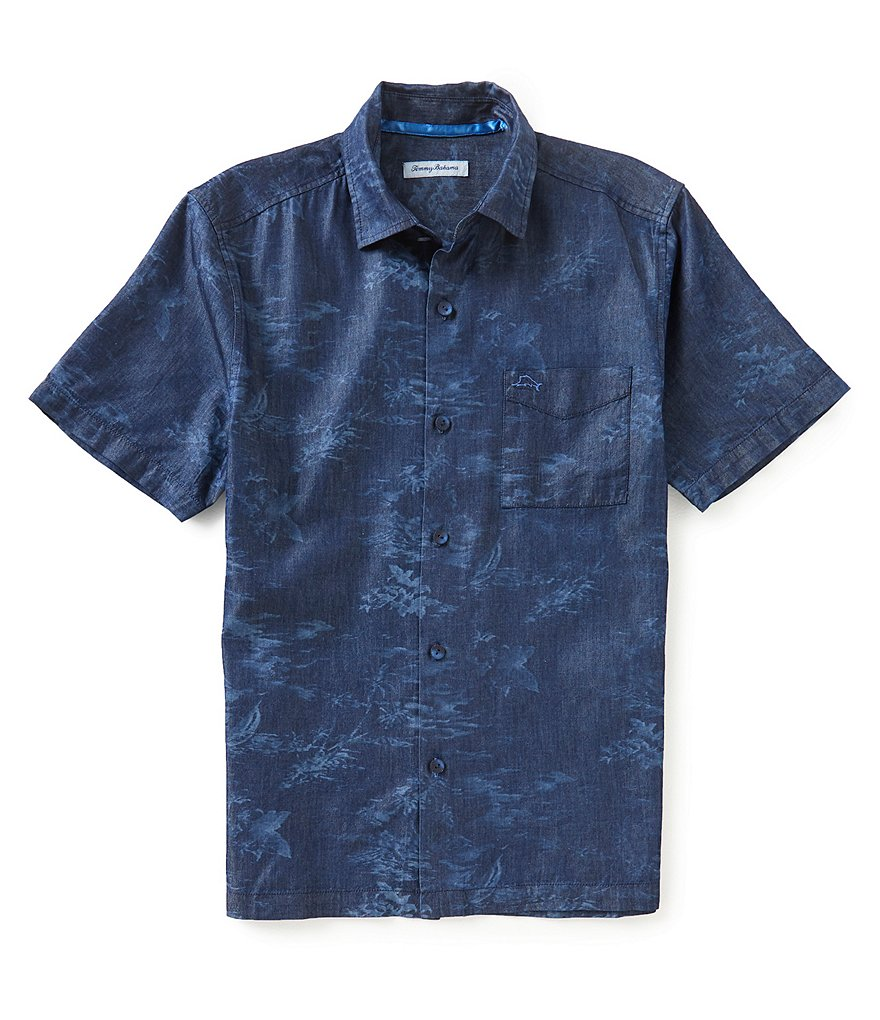 Tommy Bahama South Beach Scenic Short-Sleeve Woven Shirt