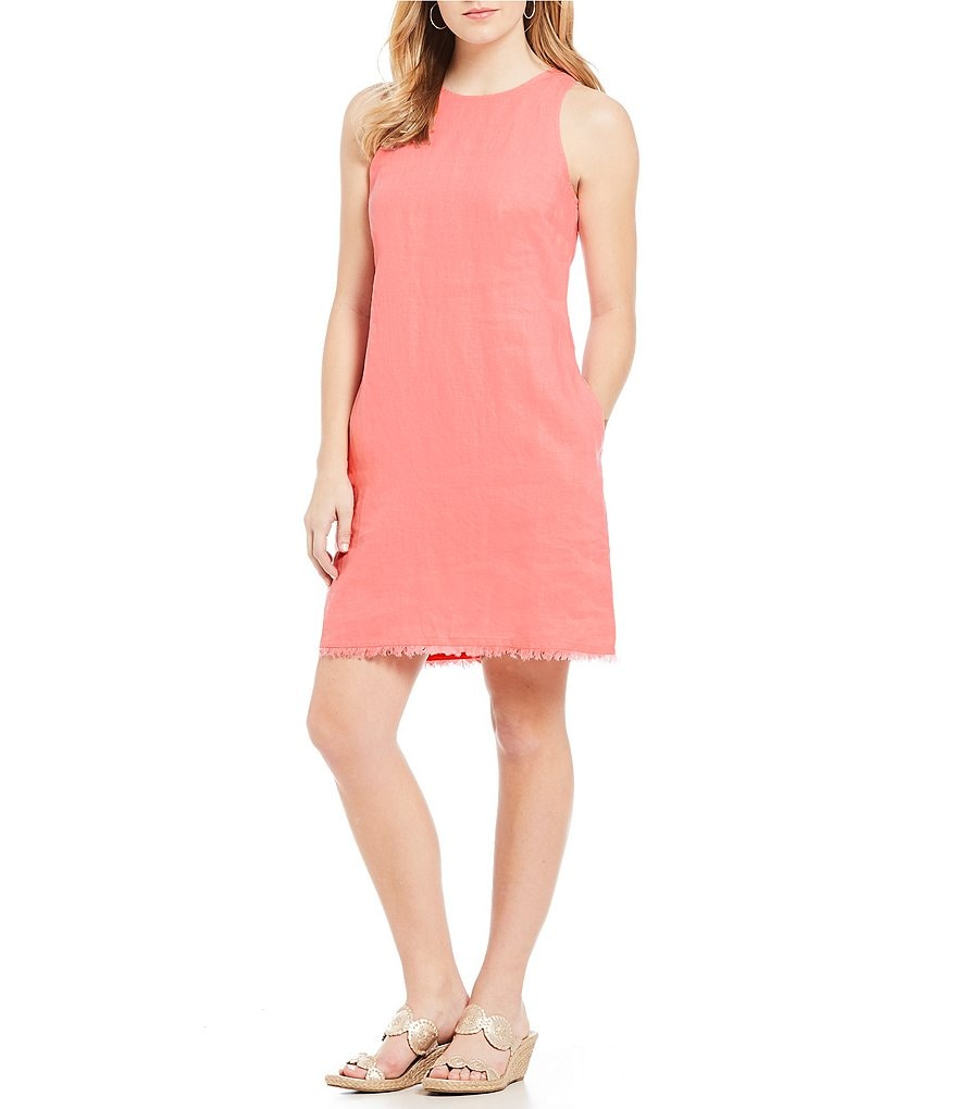 Tommy Bahama Two Palm Sleeveless Short Dress