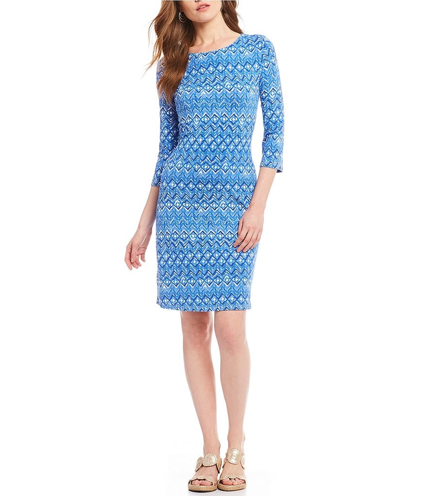 Tommy Bahama Waveprancer Short Shift Dress