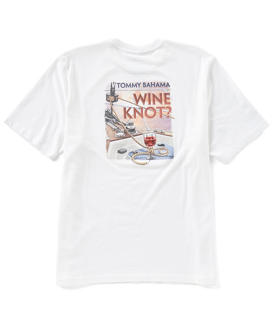 Tommy Bahama Wine Knot Short-Sleeve Crewneck Graphic Tee