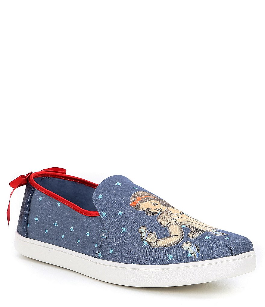 TOMS Deconstructed Alpargata Snow White Slip On Shoes