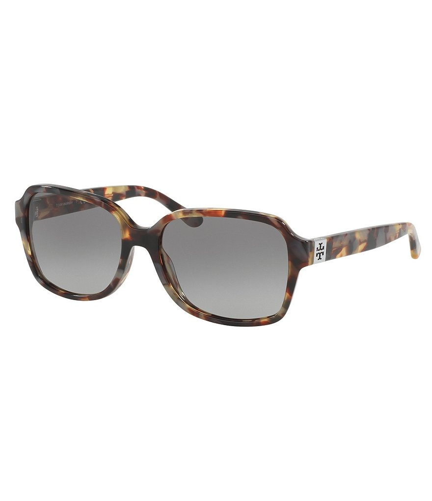 Tory Burch Gradient Rectangle Sunglasses