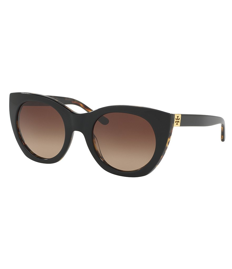 Tory Burch Oversized Cat-Eye Sunglasses