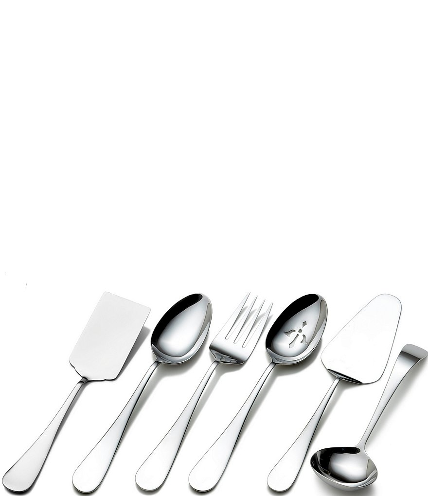 Towle Silversmiths 6-Piece Stainless Steel Serving Utensil Set