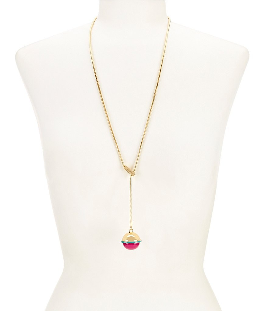 Trina Turk Destination Groove Lariat Necklace
