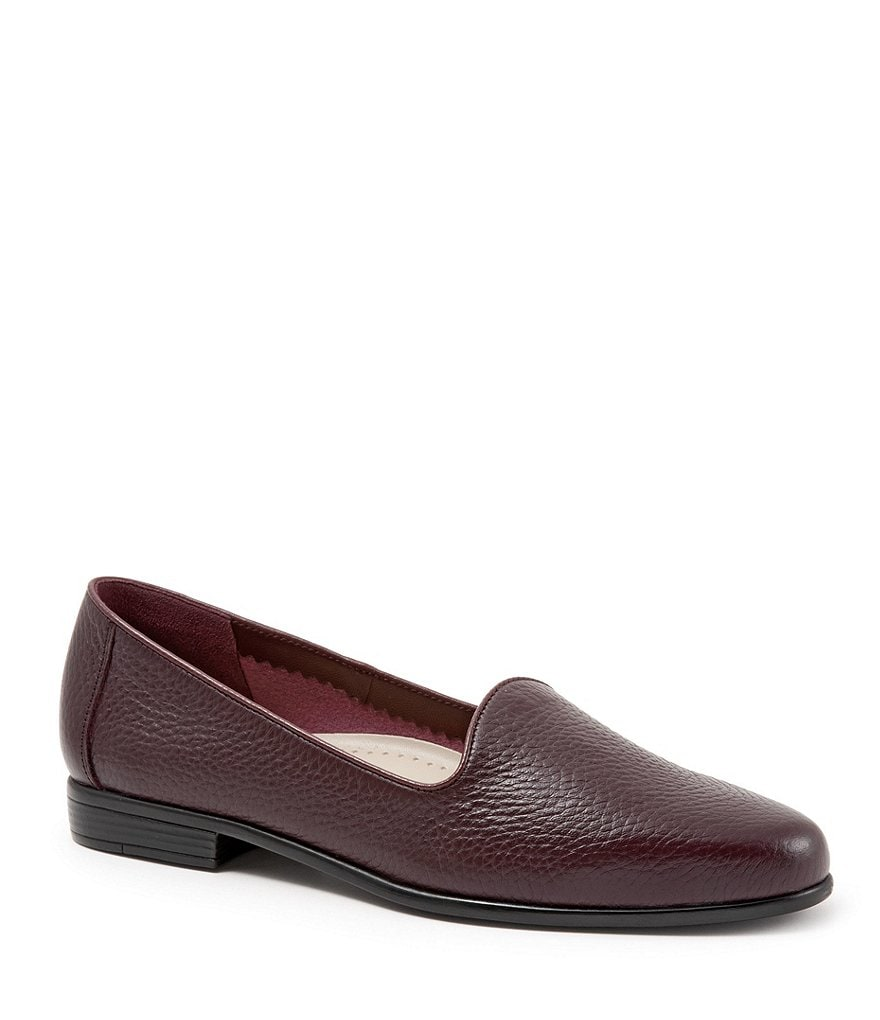 Mr/Ms Mr/Ms Mr/Ms Trotters Liz Tumbled Leather Loafers   Wear resistant 12d43a