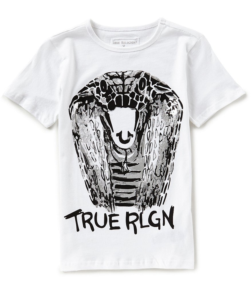 True Religion Big Boys 8-20 Cobra Short-Sleeve Tee