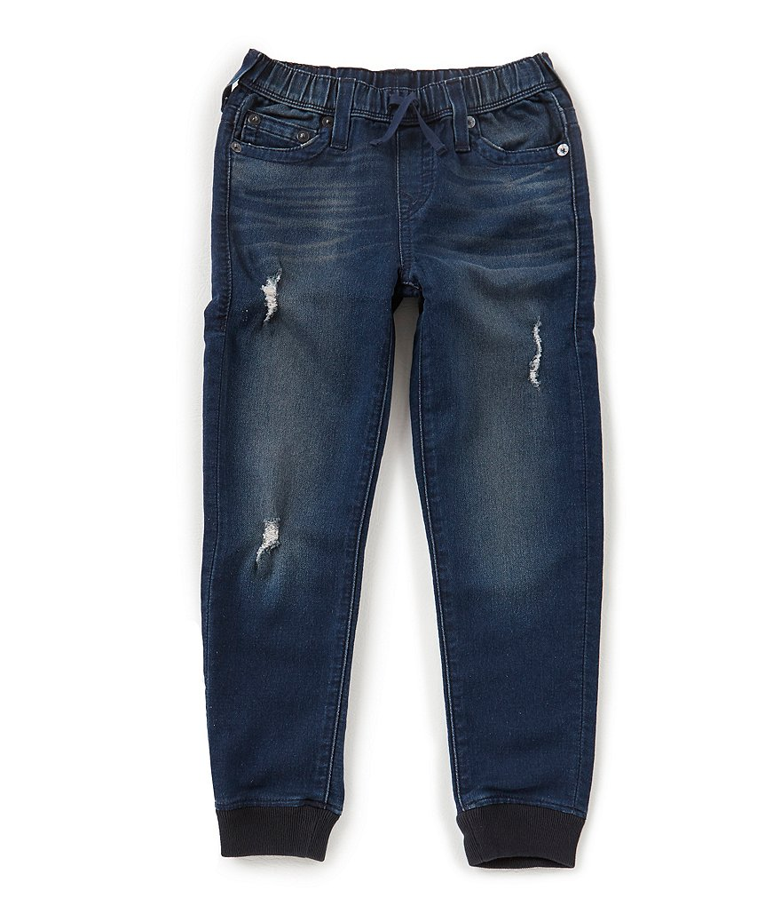 True Religion Big Boys 8-20 French Terry Denim Jogger Pants