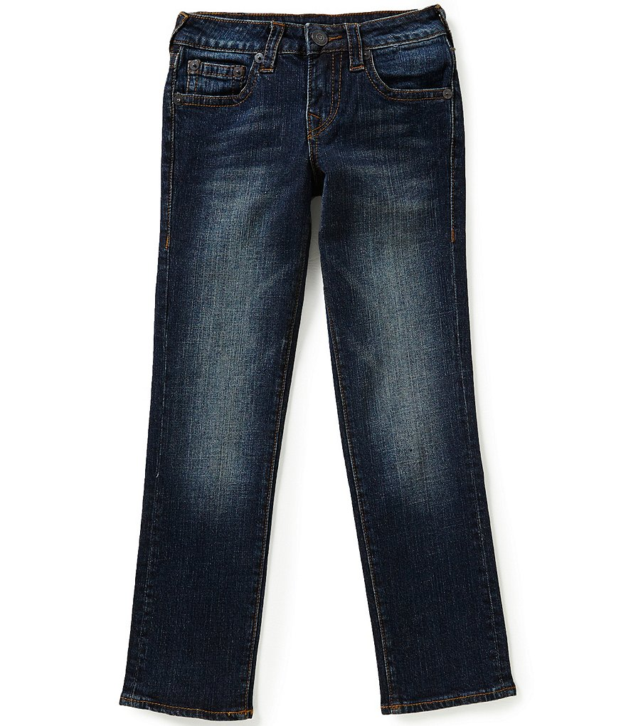 True Religion Big Boys 8-20 Geno Relaxed Slim Jeans