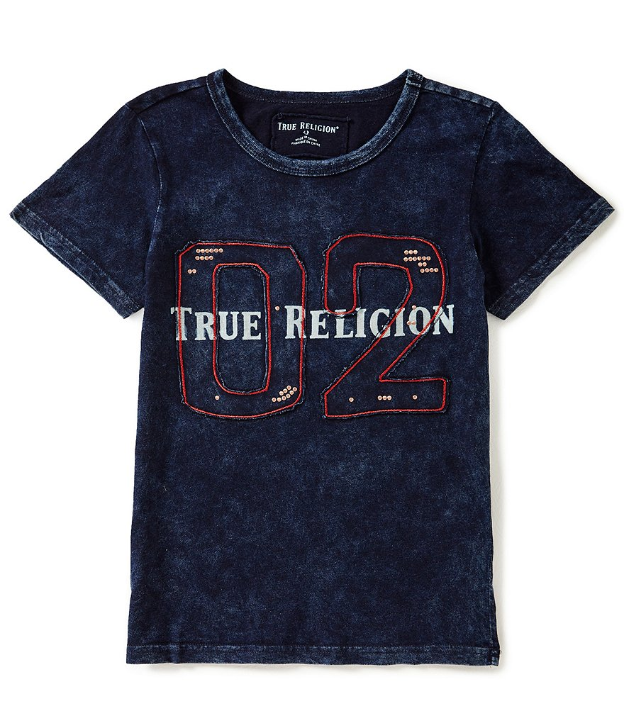 True Religion Big Boys 8-20 Short-Sleeve #double;02#double; Tee