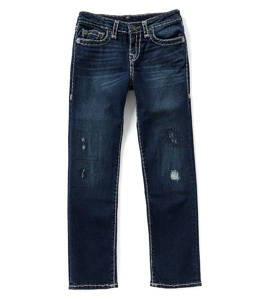 True Religion Big Boys 8-20 Super T Stretch Denim Jeans