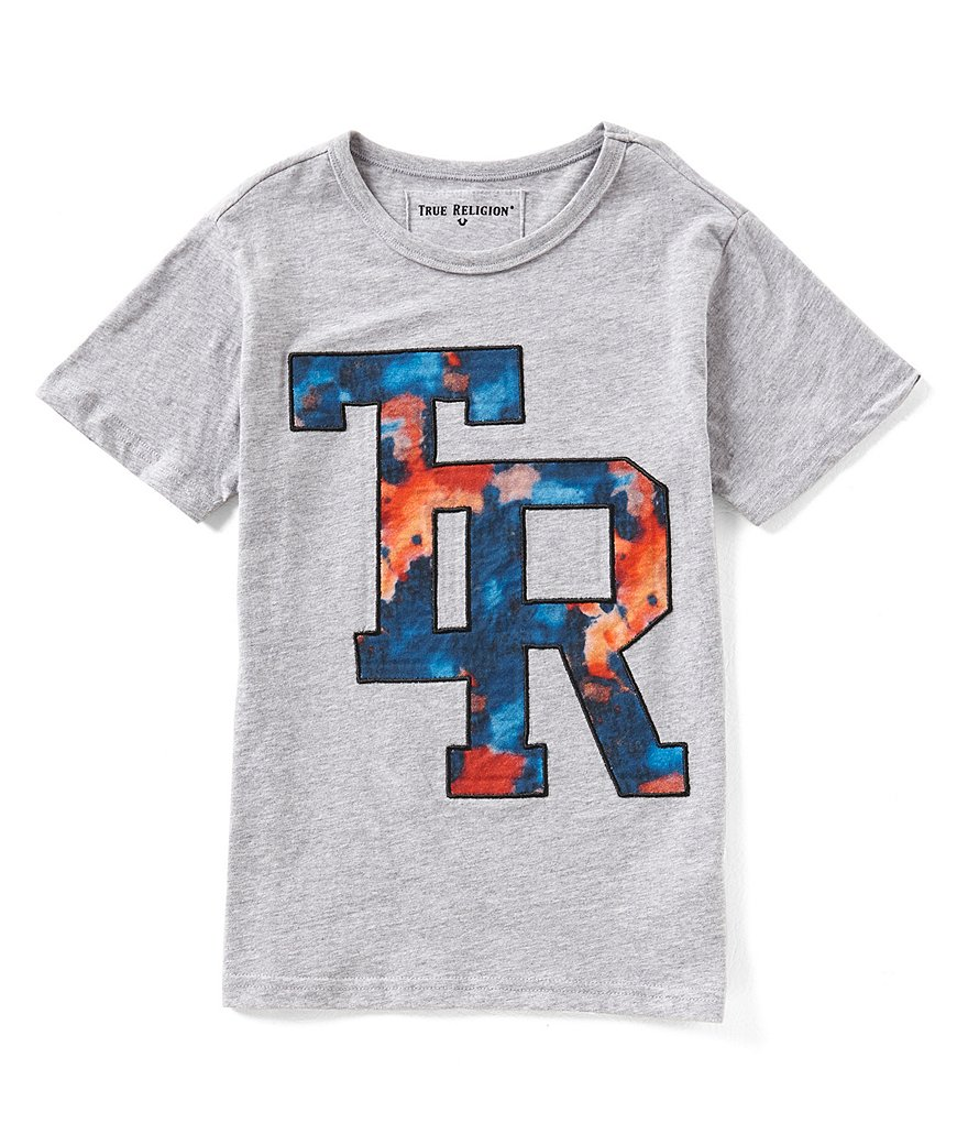 True Religion Big Boys 8-20 TR Tie-Dye Short-Sleeve Tee