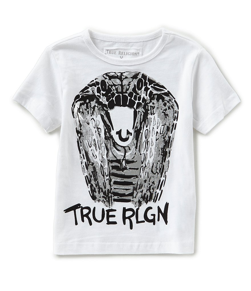 True Religion Little Boys 2T-7 Cobra Short-Sleeve Tee