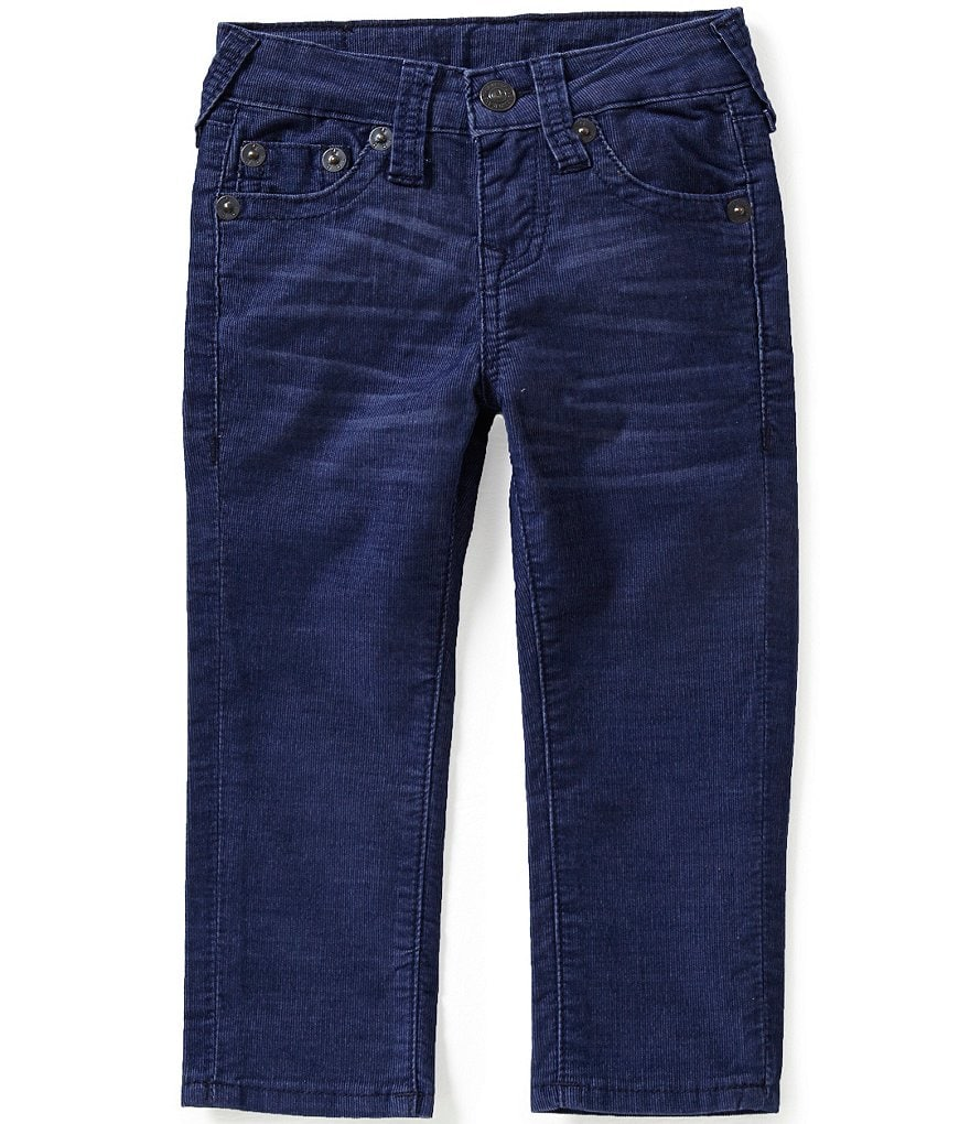 True Religion Little Boys 2T-7 Geno Relaxed-Fit Corduroy Pants