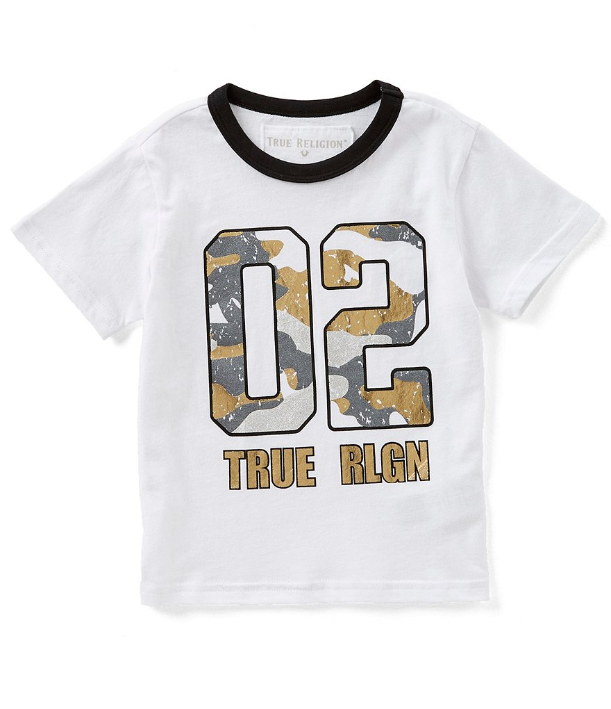 True Religion Little Boys 2T-7 Short-Sleeve