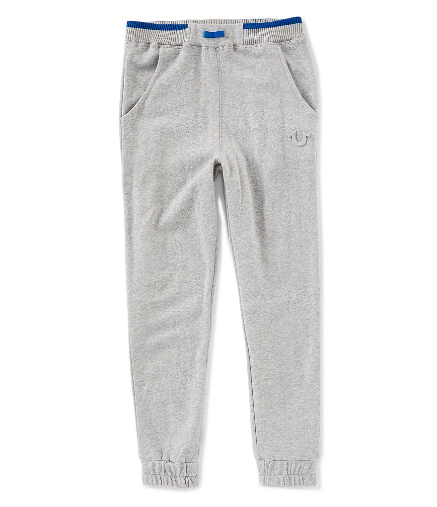 True Religion Little Boys 2T-7 Tipped Rib Joggers