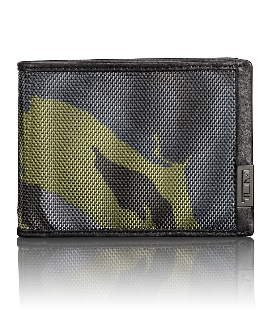TUMI Alpha ID Lock Camo Double Billfold