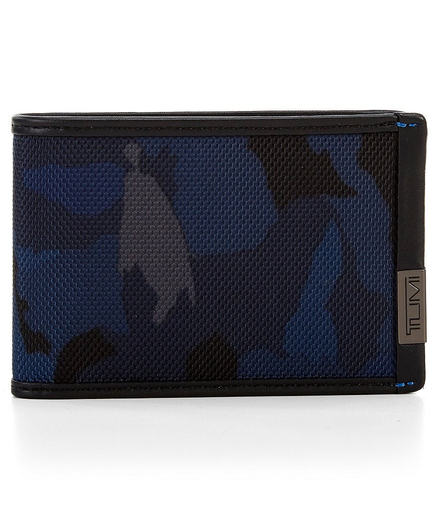 Tumi ID Lock Camo Slim Single Billfold