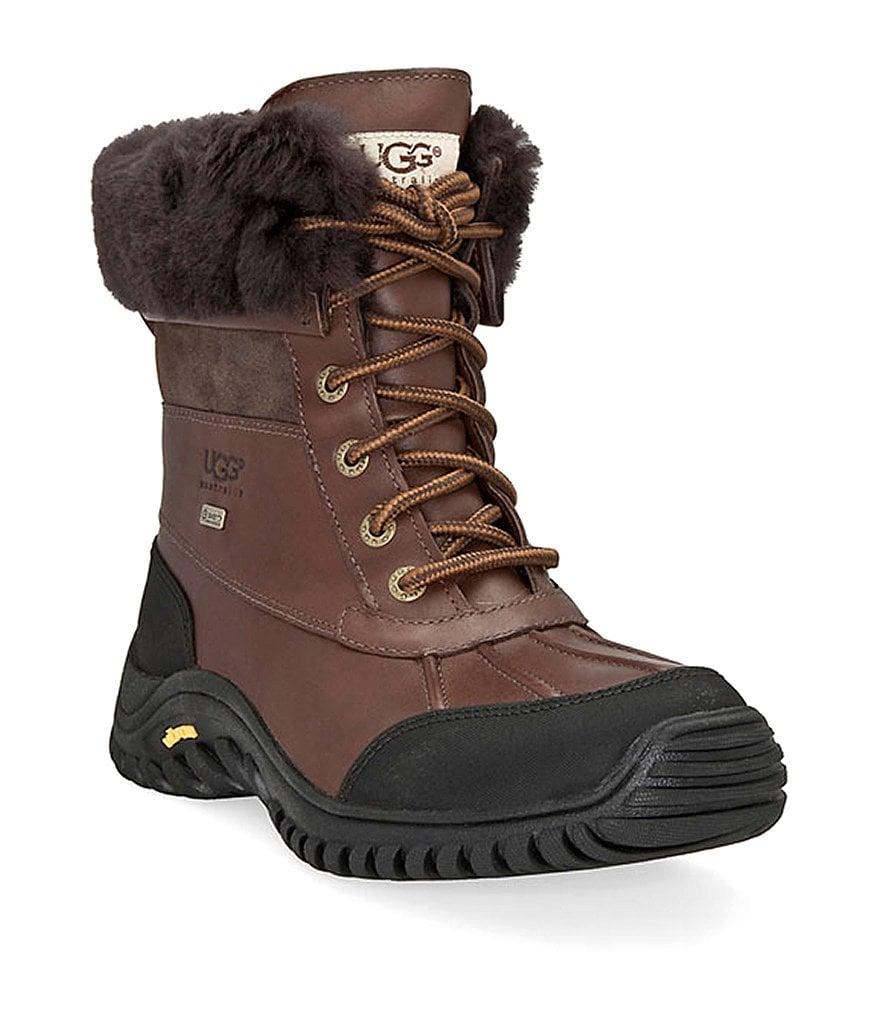 uggs adirondack lace up waterproof boots