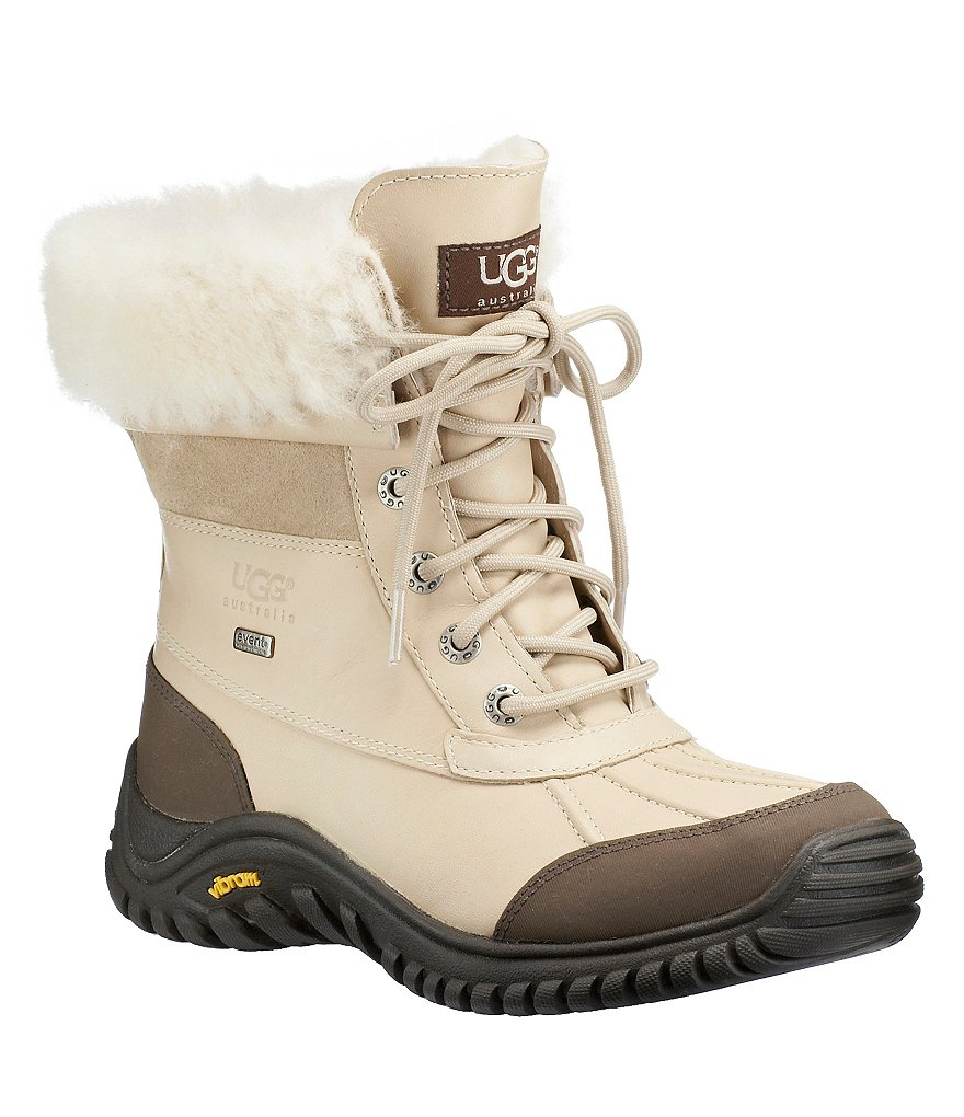 ugg174 adirondack ii cold weather lace up waterproof duck