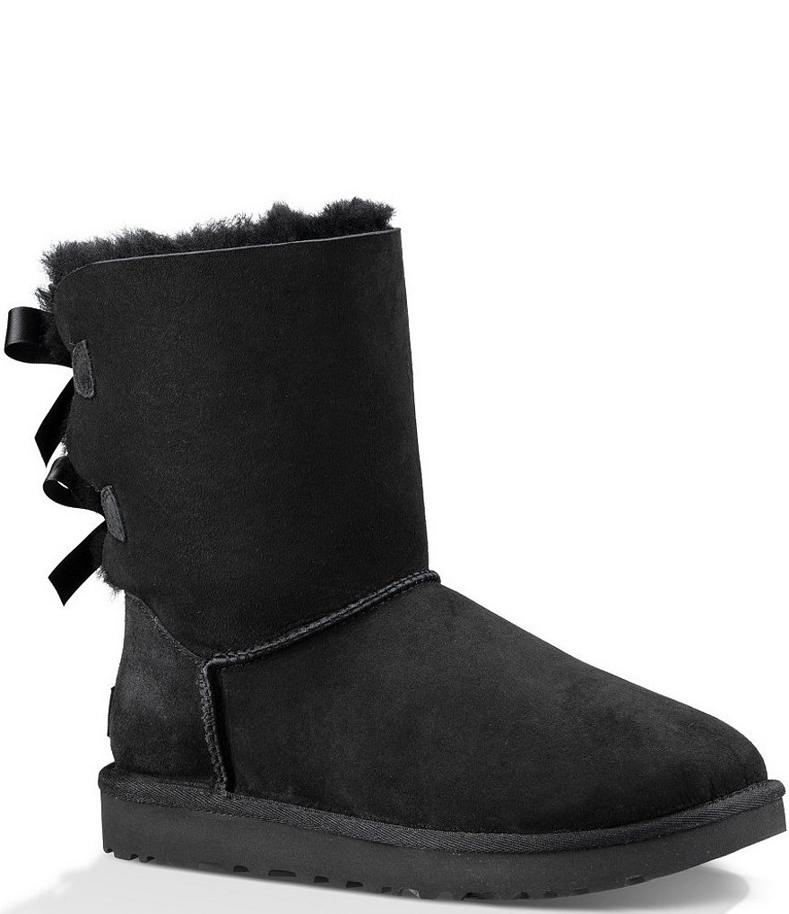 e279444abeb UGG® Bailey Suede Bow II Boots