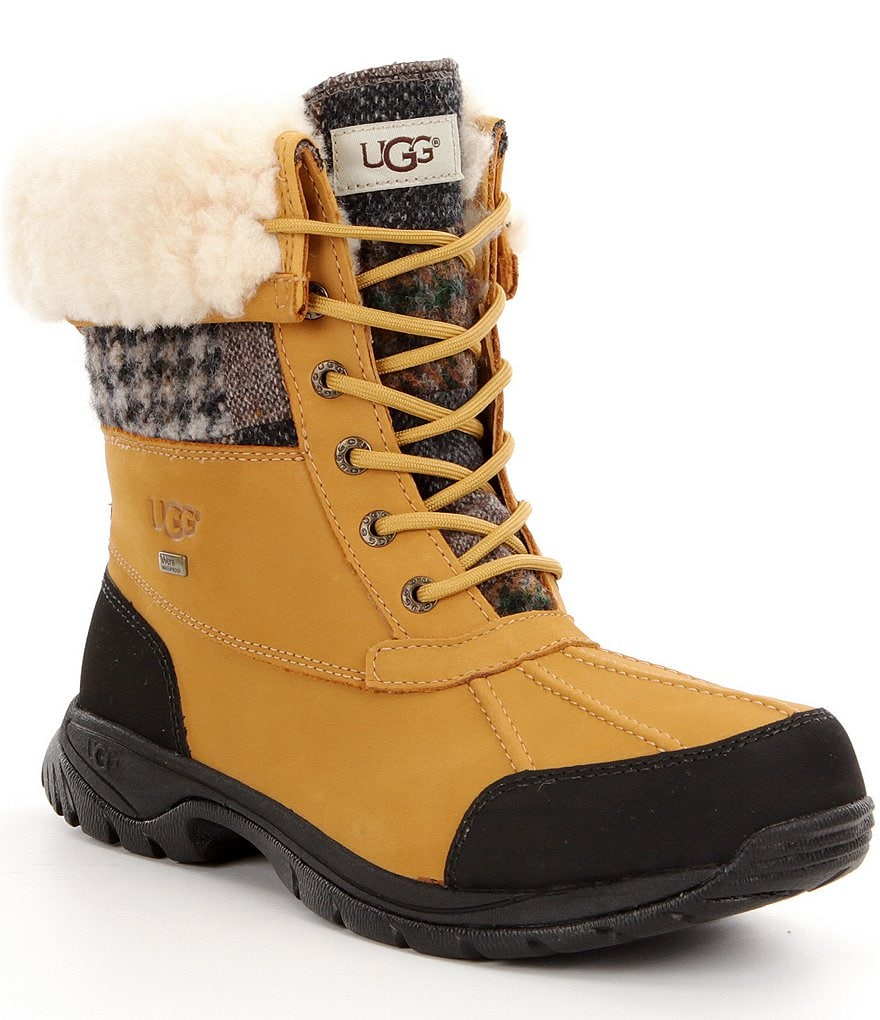 UGG® Butte Patchwork Men´s Waterproof Cold-Weather Boots