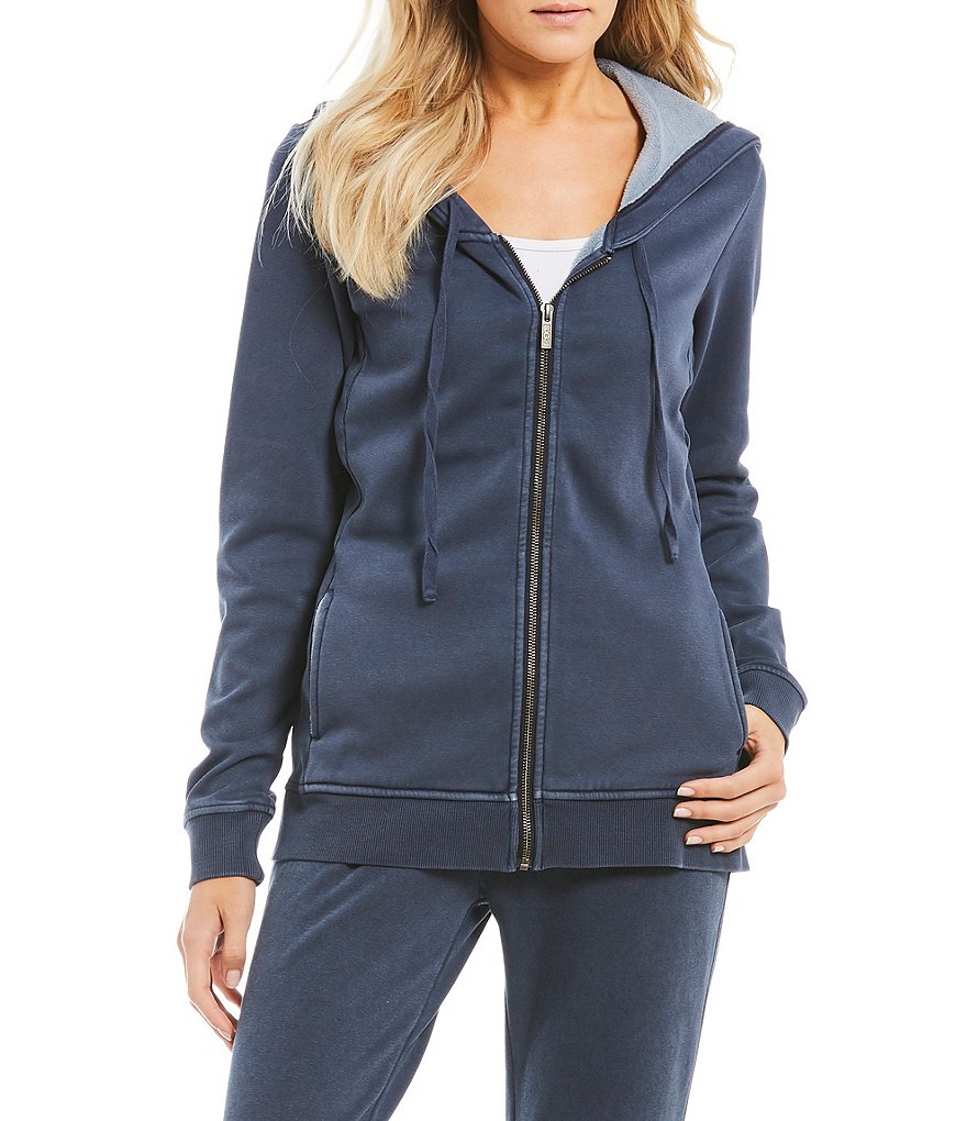 UGG® Clara Fleece Hooded Lounge Jacket