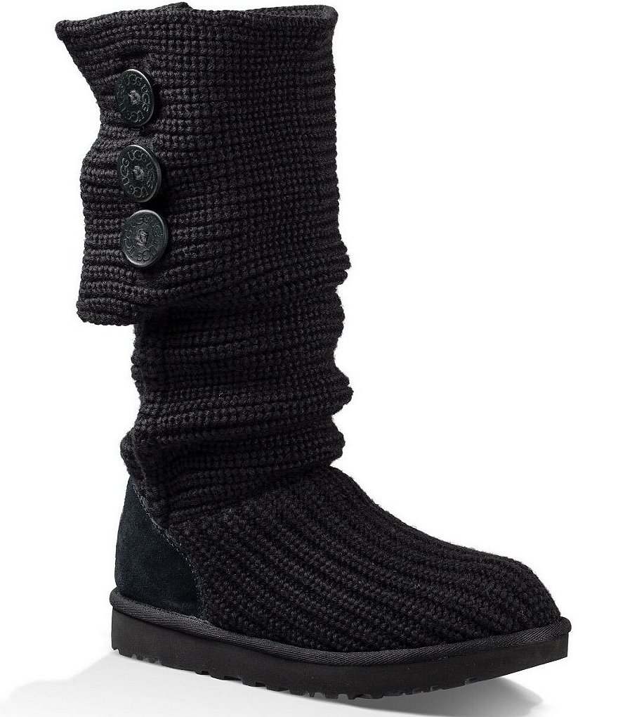 UGG® Classic Cardy Button Detailed Knit