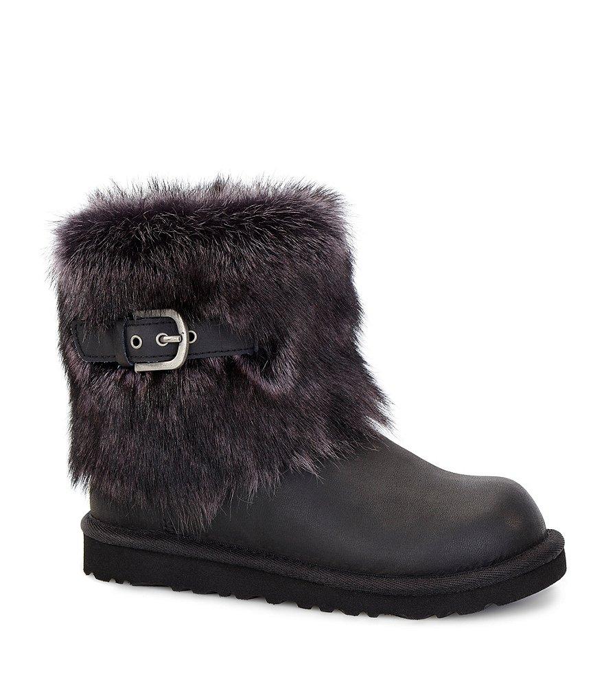 black ellee ugg boots size 5