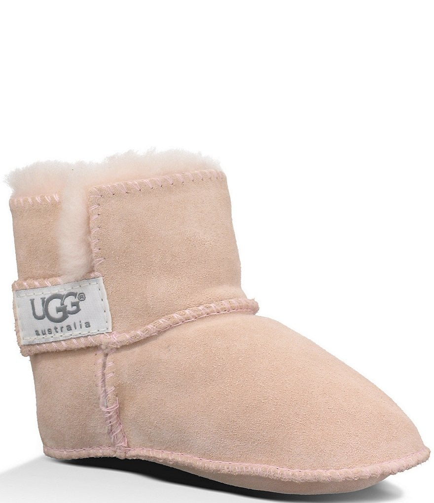 UGG® Erin Infant Girls' Suede Crib Shoes