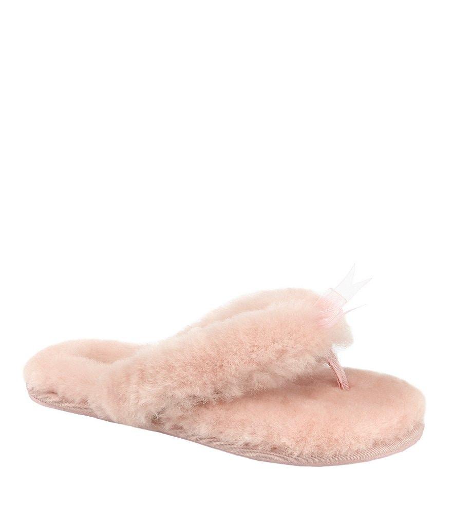 UGG® Women's Fluff Flip Flop Slippers