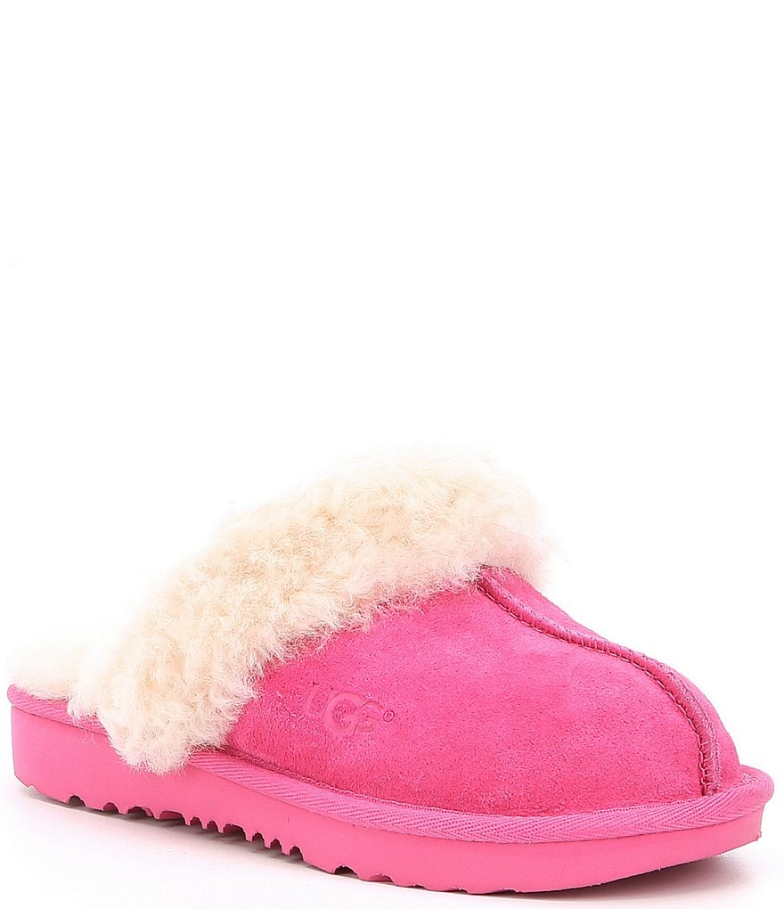 UGG® Girls' Cozy II Suede Slip-On Slippers