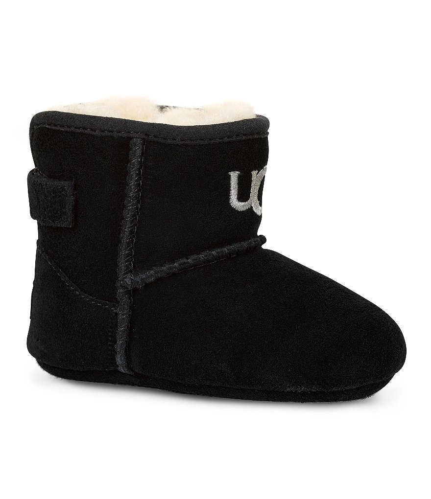 UGG® Jesse Suede Crib Shoes