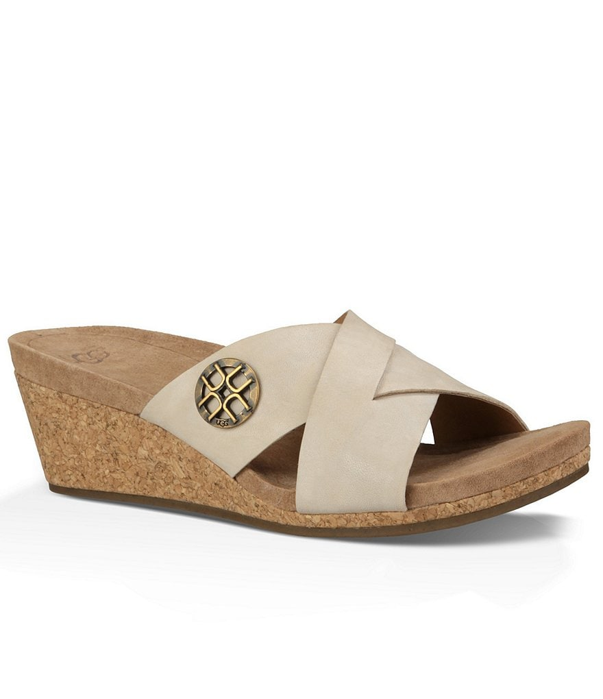 UGG® Lyra Wedge Sandals