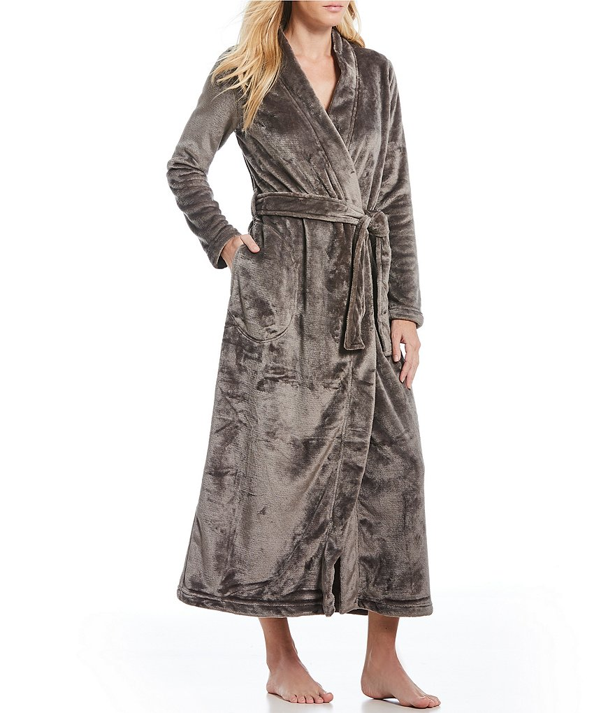 UGG® Marlow Double Fleece Long Wrap Robe