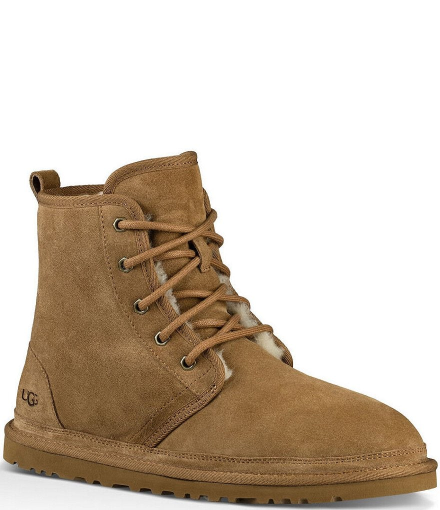 UGG® Men's Harkley Suede Wool Lined Lace Up Boots