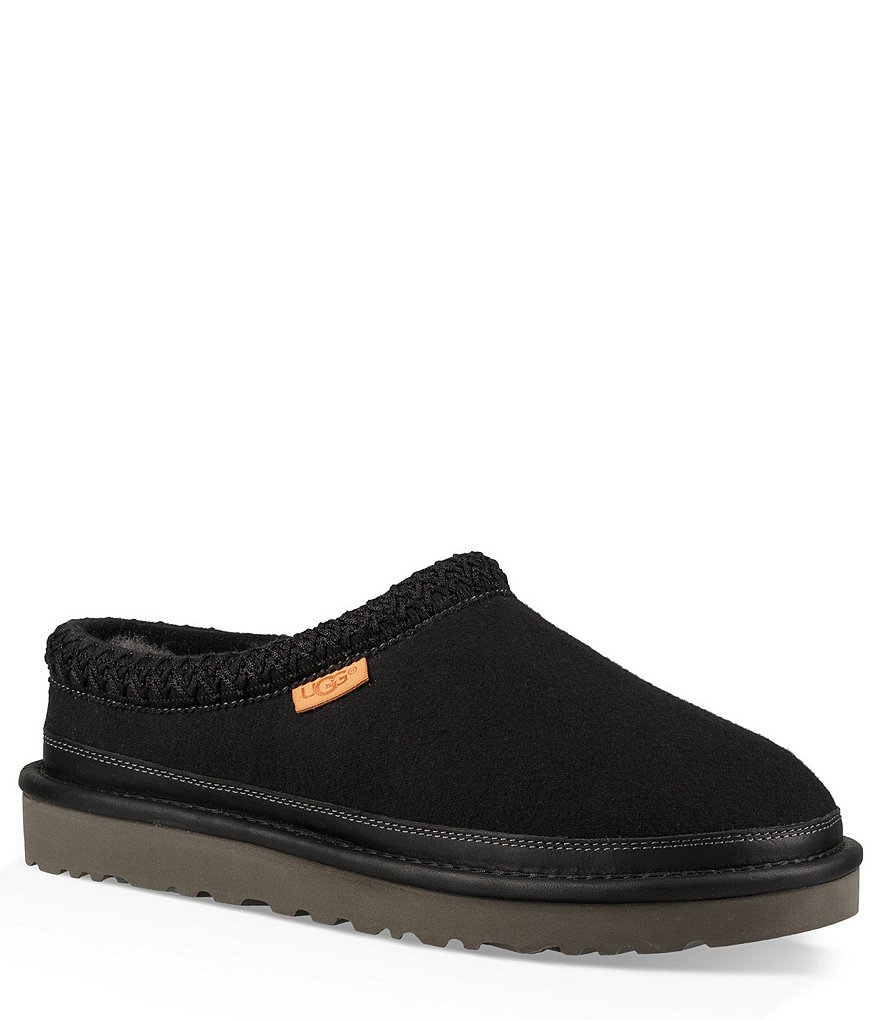 UGG Men's Tasman Leather and Wool Slipper