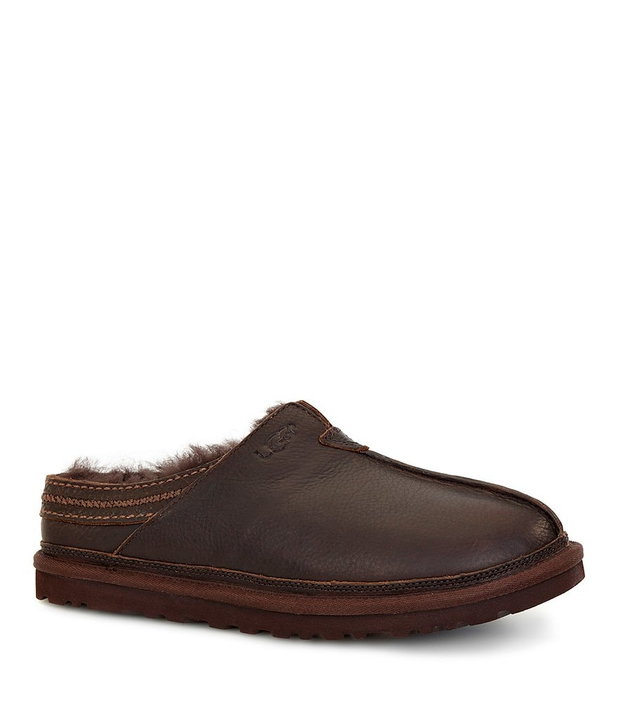 UGG® Men's Neuman Leather Slippers