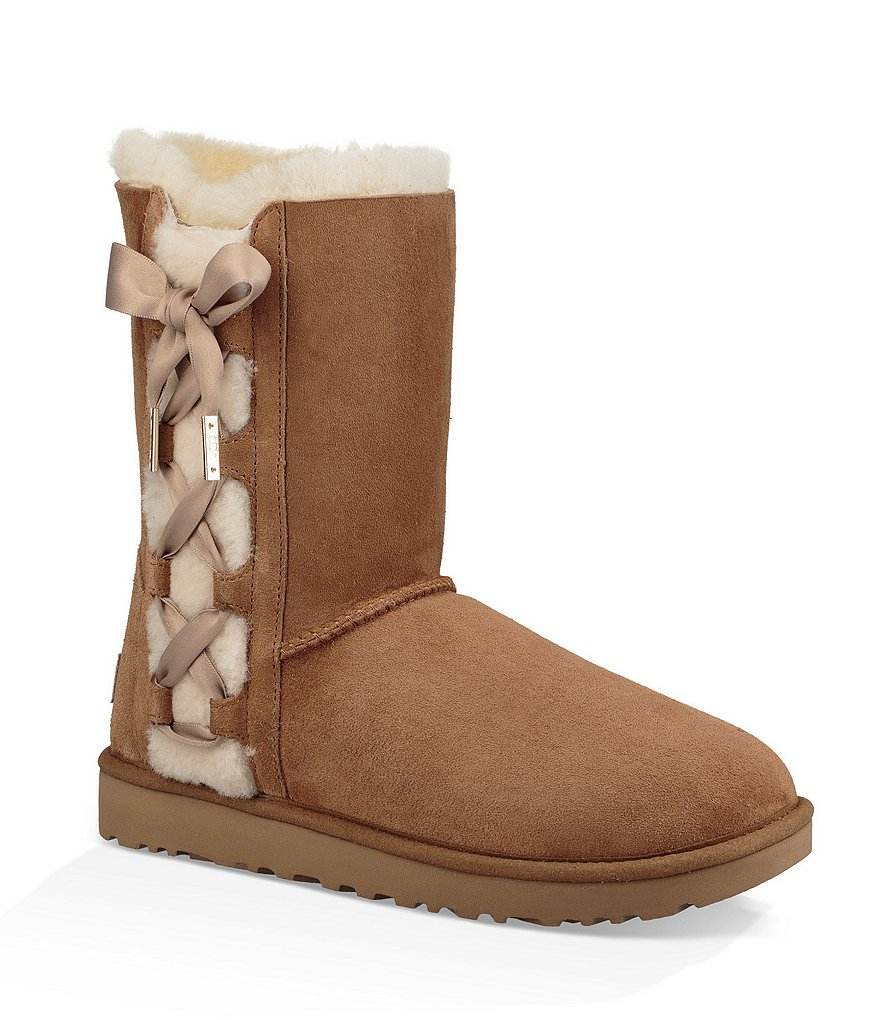 UGGUGG® Pala Suede Side Lace-Up Boots
