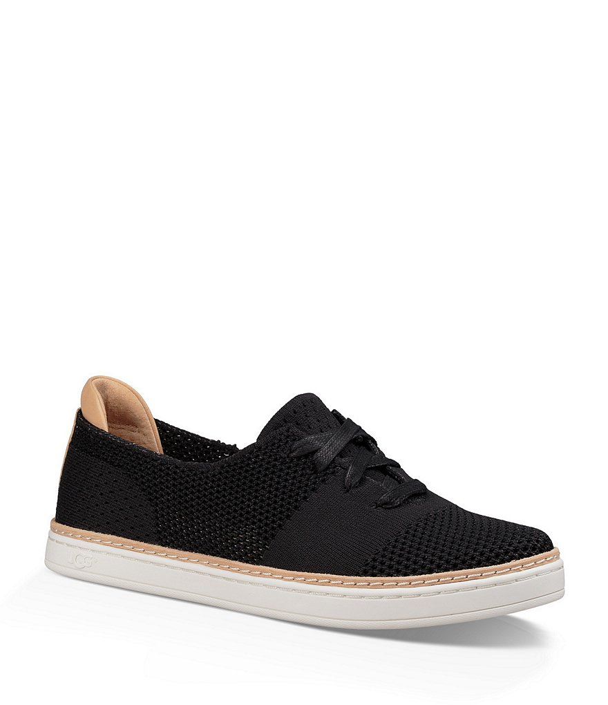 UGG® Pinkett Perforated Lace-Up Sneakers