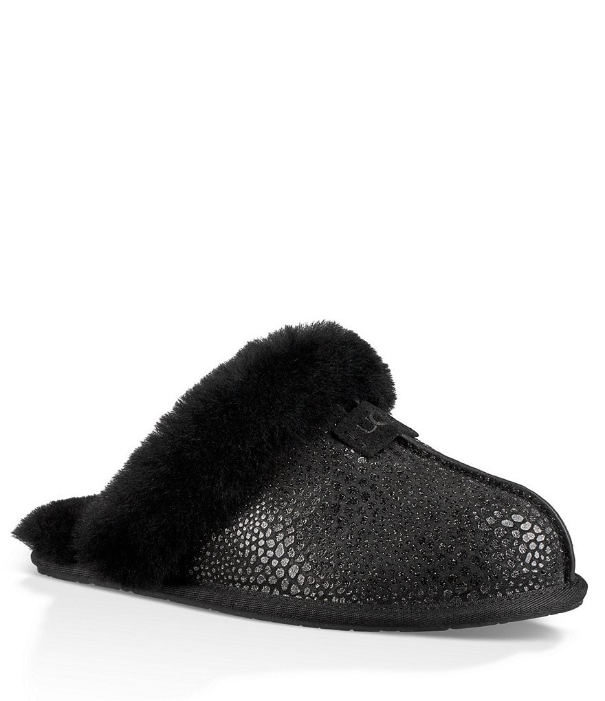 UGG® Scuffette II Glitzy Shimmer Suede Slippers