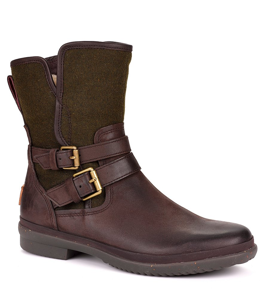 UGG® Simmens Buckle Moto Boots