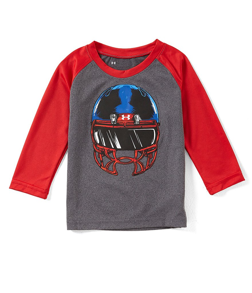 Under Armour Baby Boys 12-24 Months Facemask Raglan Long-Sleeve Tee