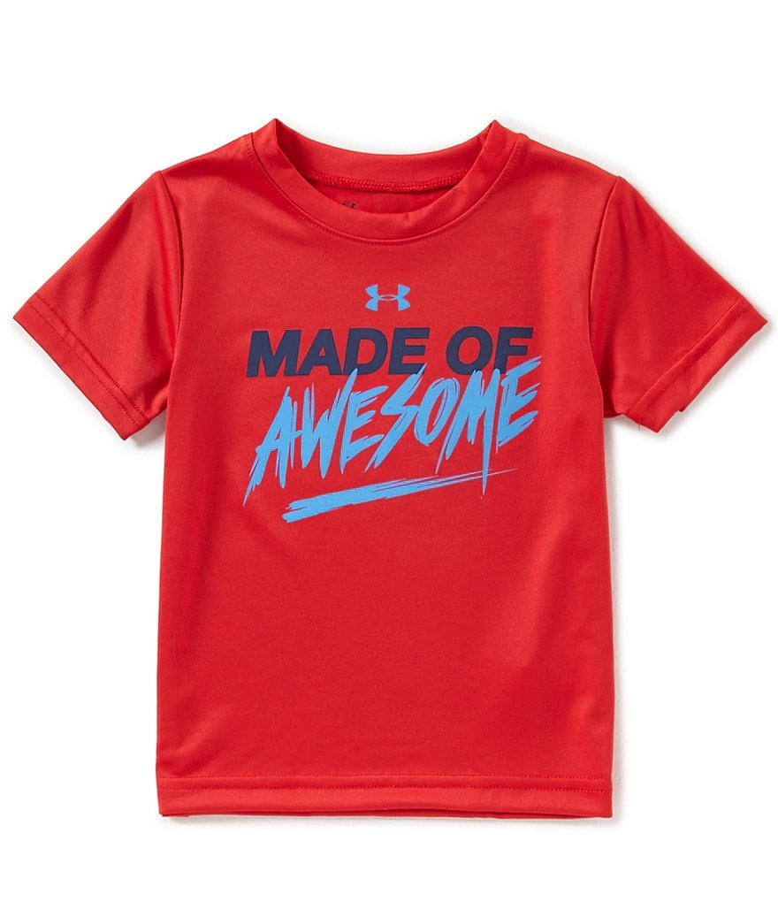 Under Armour Baby Boys 12-24 Months Made Of Awesome Short-Sleeve Tee